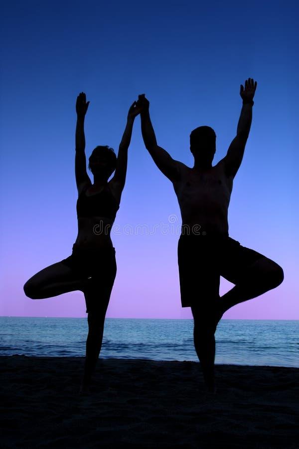 Yoga de la playa