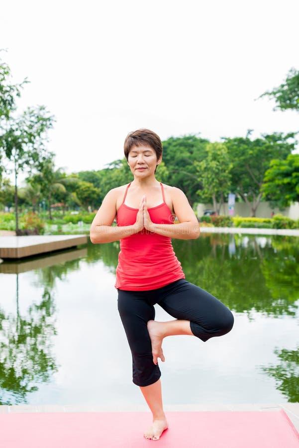 yoga de pose image libre de droits