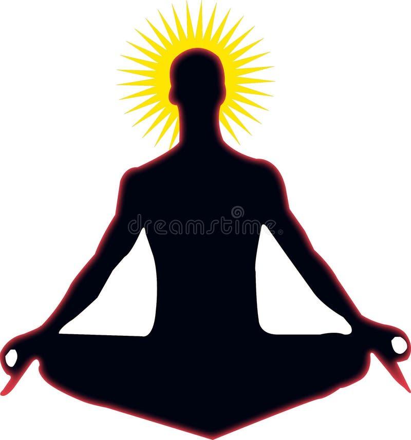 Yoga del zen libre illustration