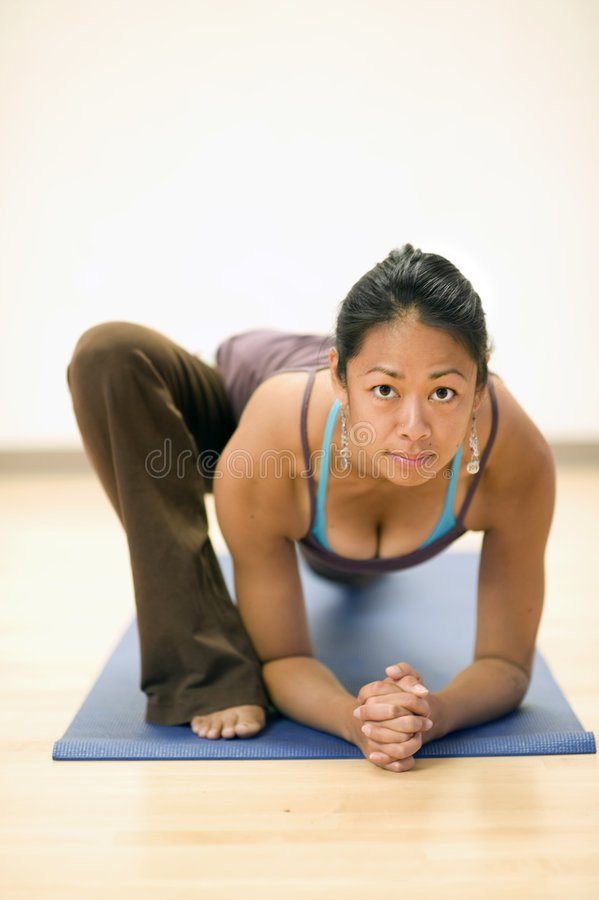 Download Yoga Diversity stock image. Image of cleavage, asana, courage - 8251393