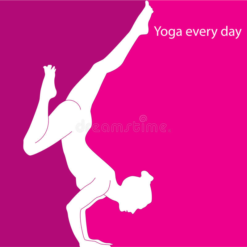 Download Yoga every day stock image. Image of balance, gymnastic - 32535967