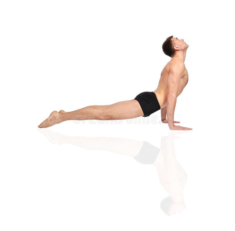 Download Yoga exercise stock photo. Image of meditation, calm - 27918060
