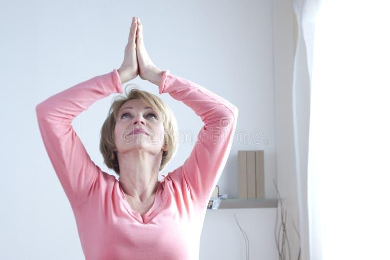 Yoga Exercises stock photos