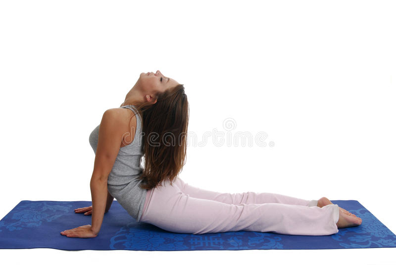 Yoga Exercises royalty free stock photos