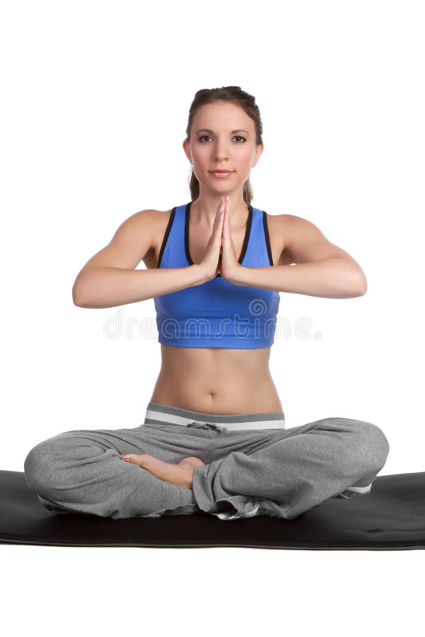 Download Yoga Girl Stock Photos - Image: 16499913
