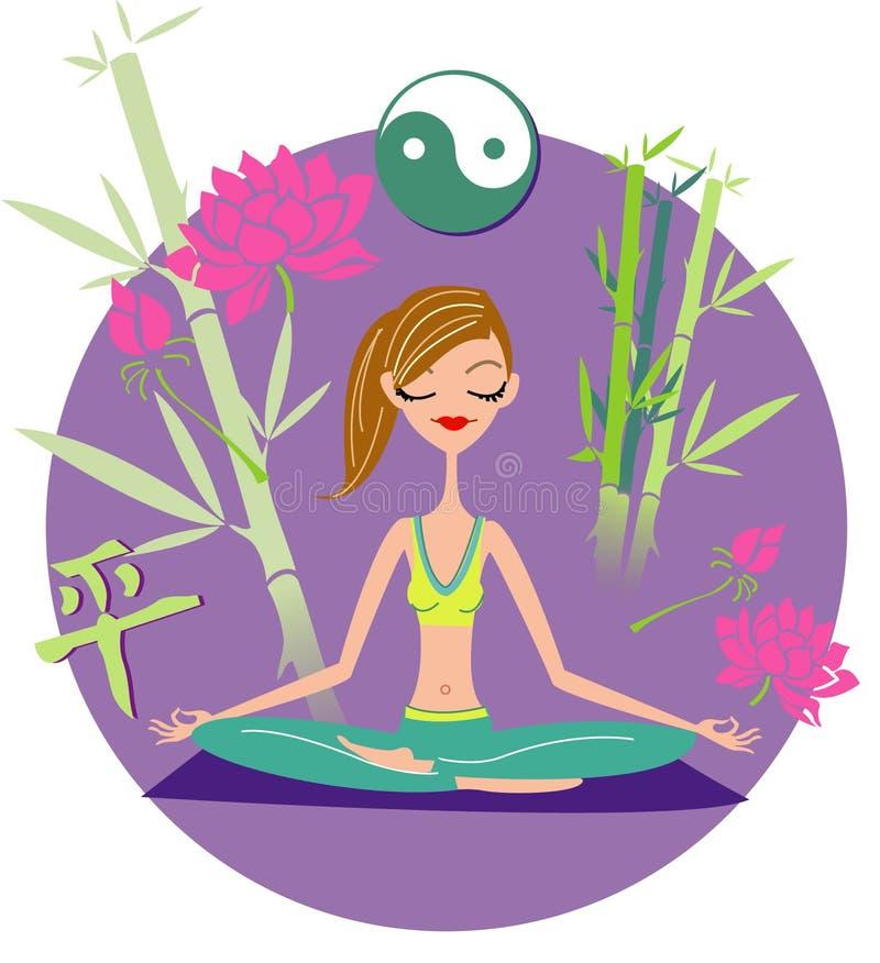Download Yoga Girl Royalty Free Stock Photography - Image: 9157047