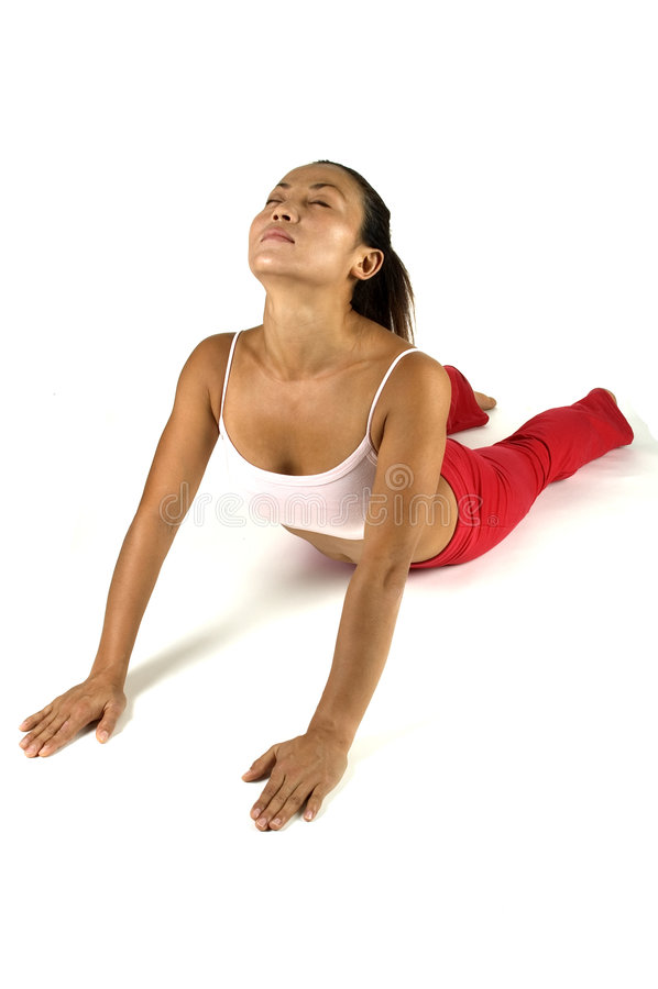 Yoga-Haltung Stockfoto