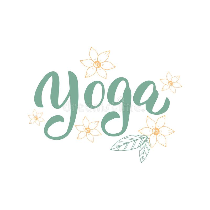 Home Yoga Text Banner Online Yoga Classes Promotion Typography Poster Design Stay Home And Stay Calm Concept Vector Eps 10 Stock Vector Illustration Of Font Online 178428505