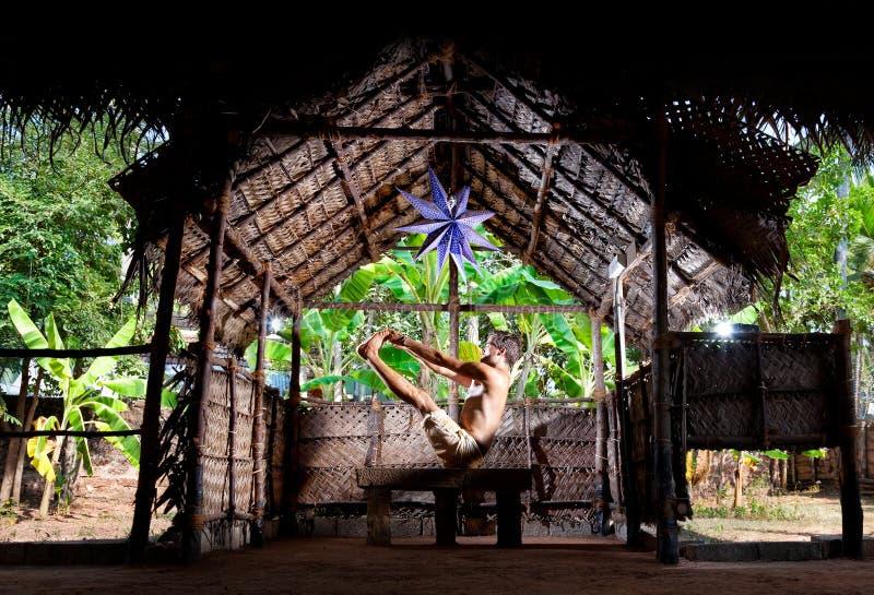 Download Yoga in India stock photo. Image of kerala, ashram, meditative - 25533354