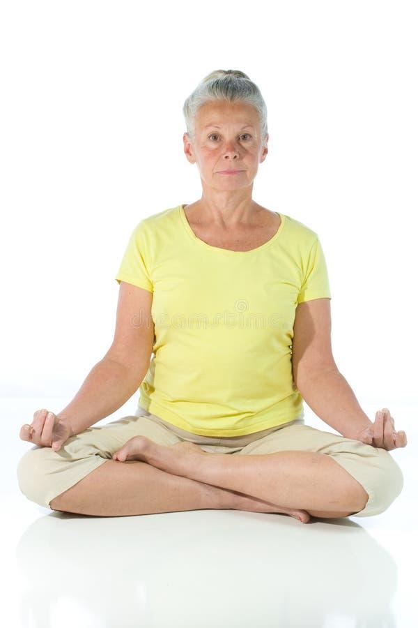 Free Yoga Lady Royalty Free Stock Photo - 6662285