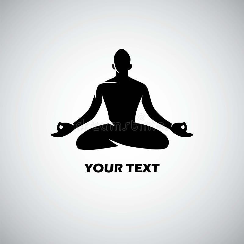 Yoga Logo Template Vector illustration de vecteur
