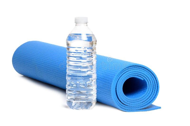 Yoga Mat Water royaltyfri fotografi