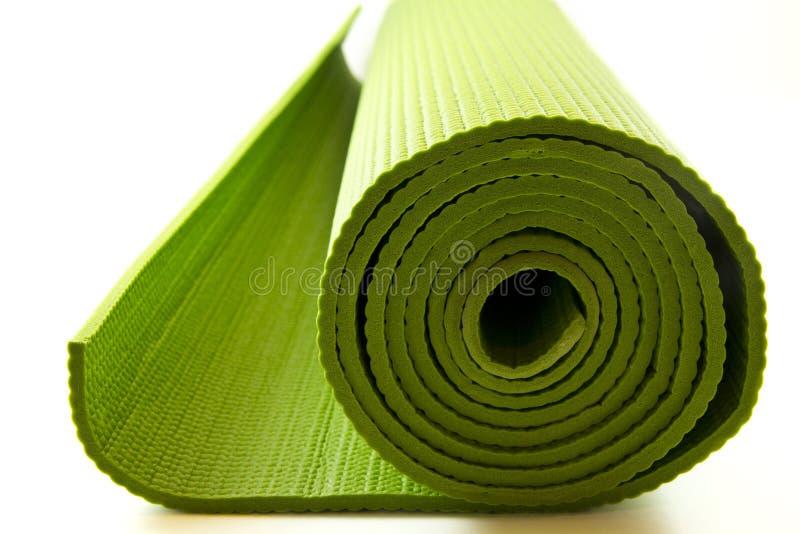yoga matras royalty-vrije stock foto's