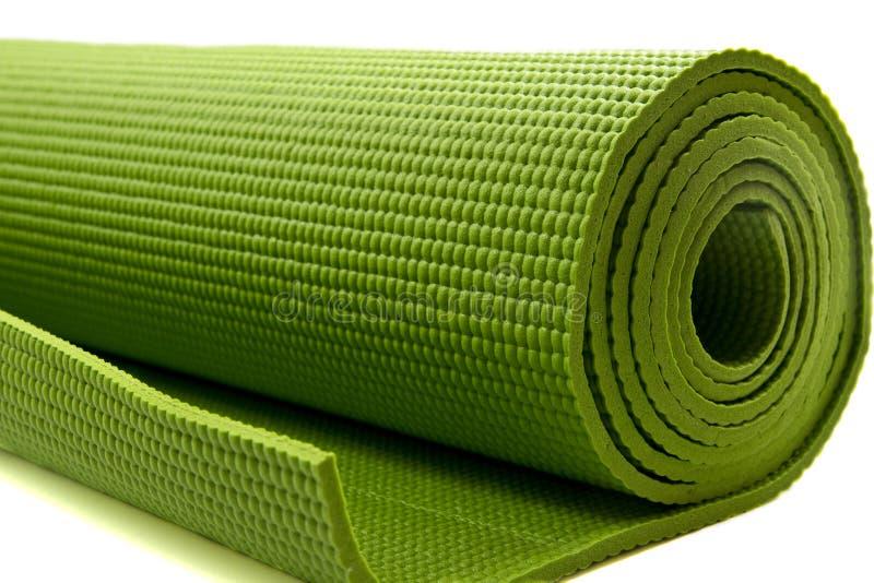 yoga mattress royalty free stock images