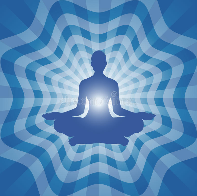Yoga - Meditation vector illustration