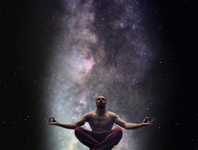 Yoga meditation concept royalty free stock photo