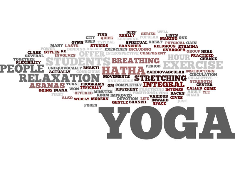 Download Yoga For Modern City Life Hatha Most Popular In The Us Text Background Word