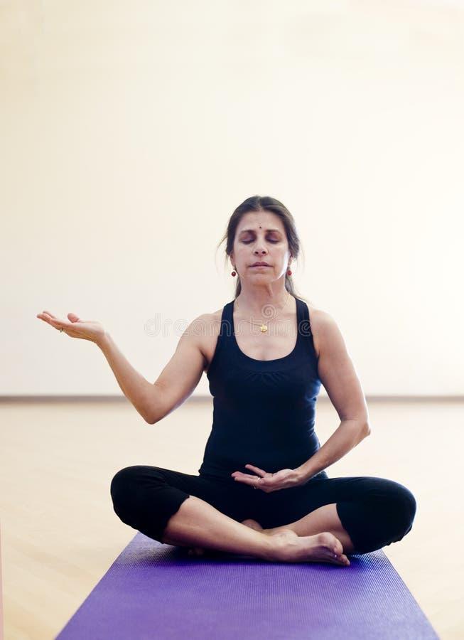 Yoga Mudra stock afbeelding