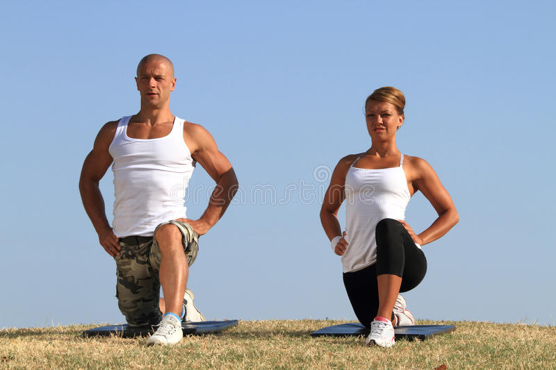Download Yoga In Nature Royalty Free Stock Images - Image: 26276329