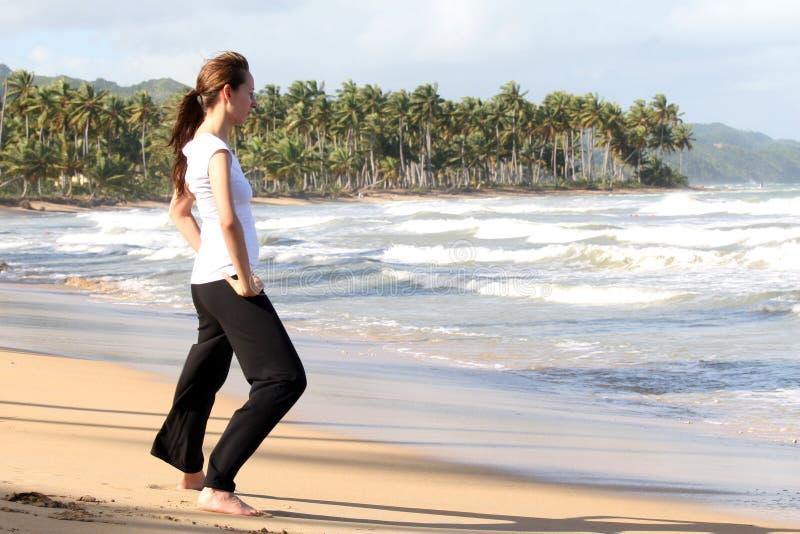 Yoga och kondition arkivbilder