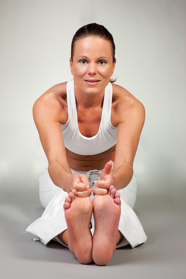 Yoga - Paschimottanasana image stock