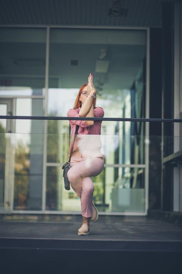 Yoga per una mente calma immagine stock libera da diritti