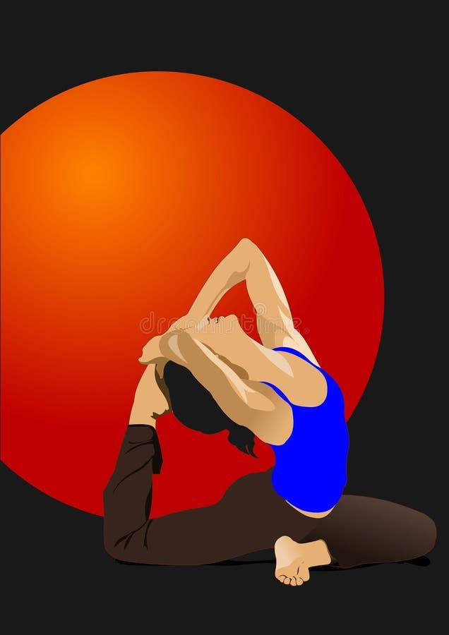 Free Yoga Pose Royalty Free Stock Photography - 151145027