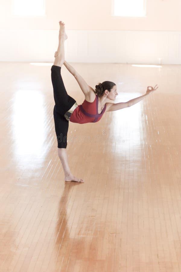 Yoga Pose royalty free stock image