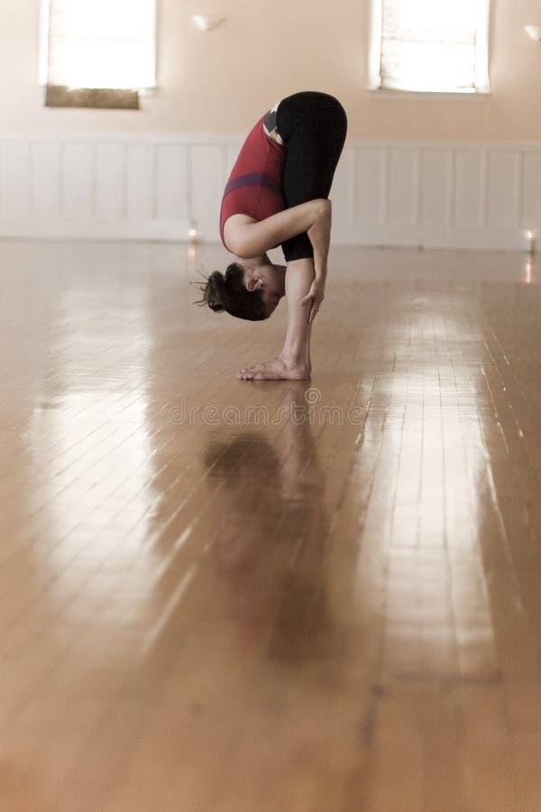 Yoga Pose royalty free stock photo