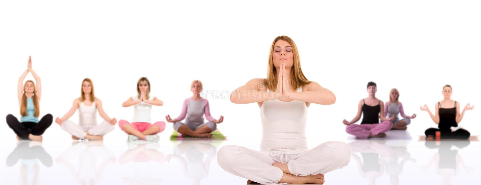 Download Yoga pose stock photo. Image of beauty, beautiful, athletic - 4968990
