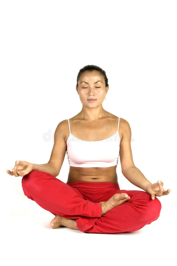 Download Yoga Pose stock image. Image of personal, trainer, relax - 89627