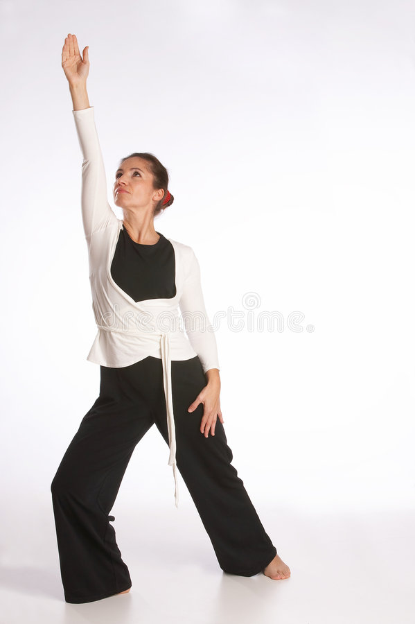 Yoga-posez photographie stock