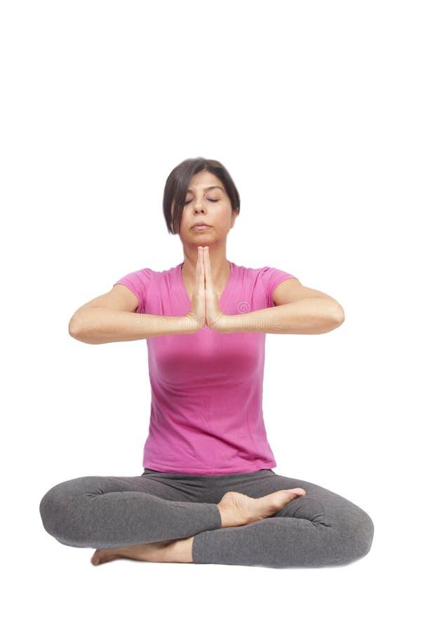Yoga Position stock photos