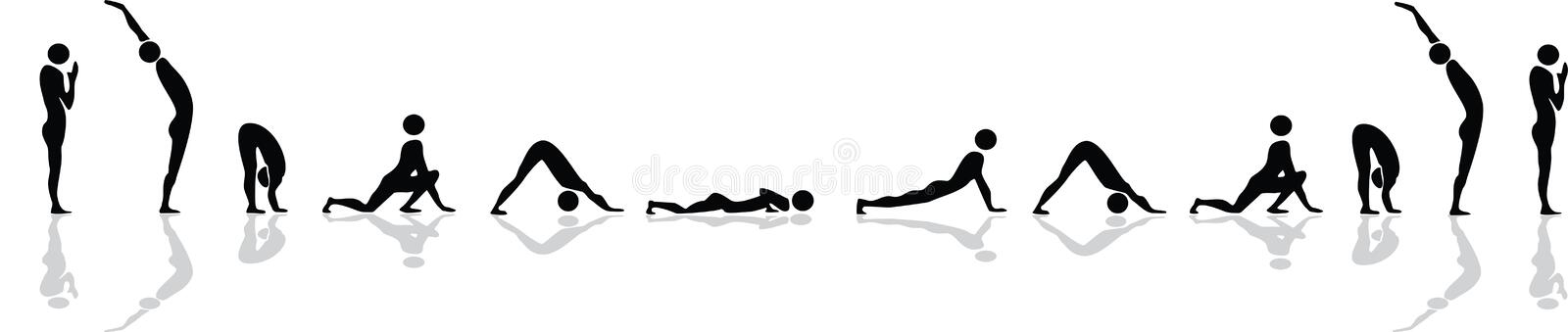 Download Yoga Position For Sun Salutation Royalty Free Stock Photo - Image: 20792875