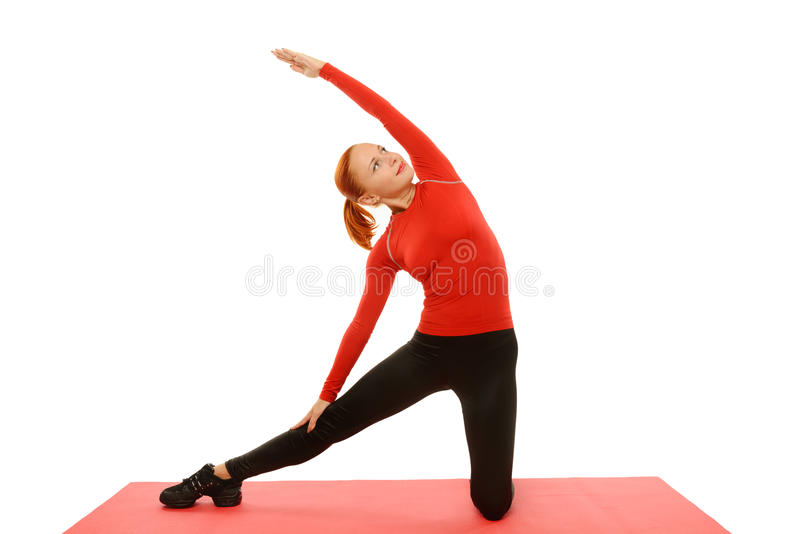 Download Yoga Practice. Woman Doing Asana Stock Image - Image of hands, sport: 27730795