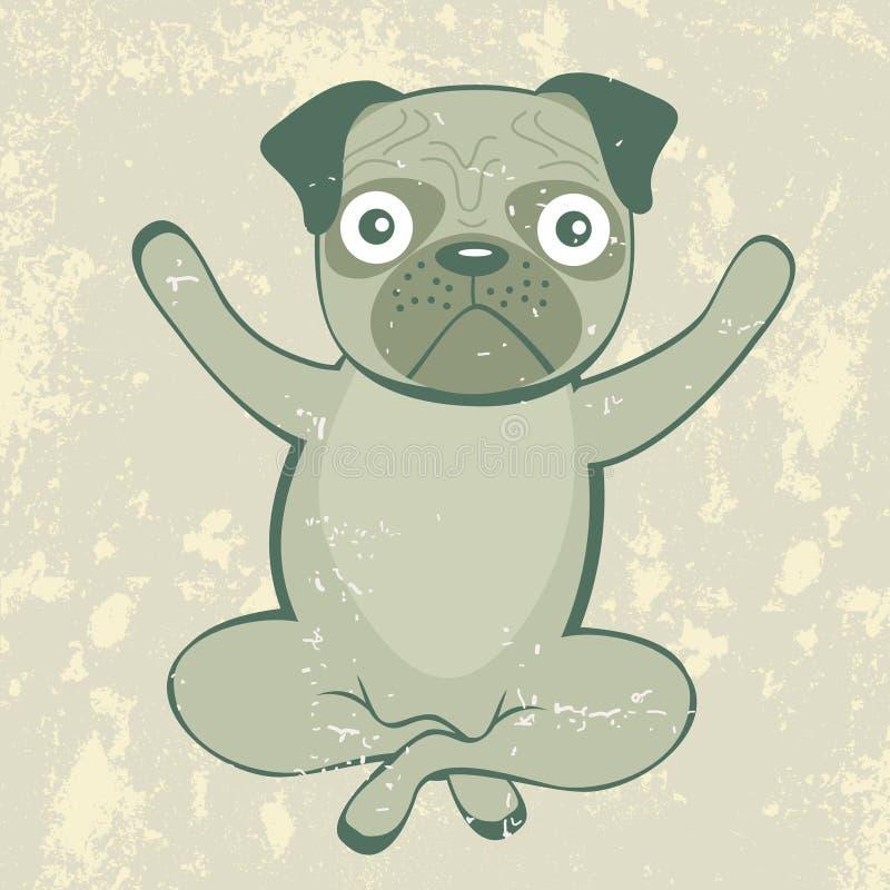 Download Yoga Pug Stock Images - Image: 36108434