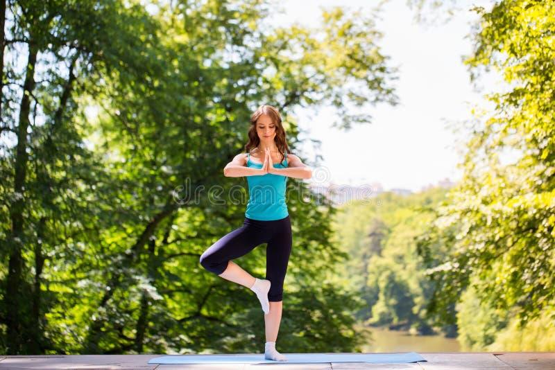 Yoga, saldo, meditatie royalty-vrije stock foto