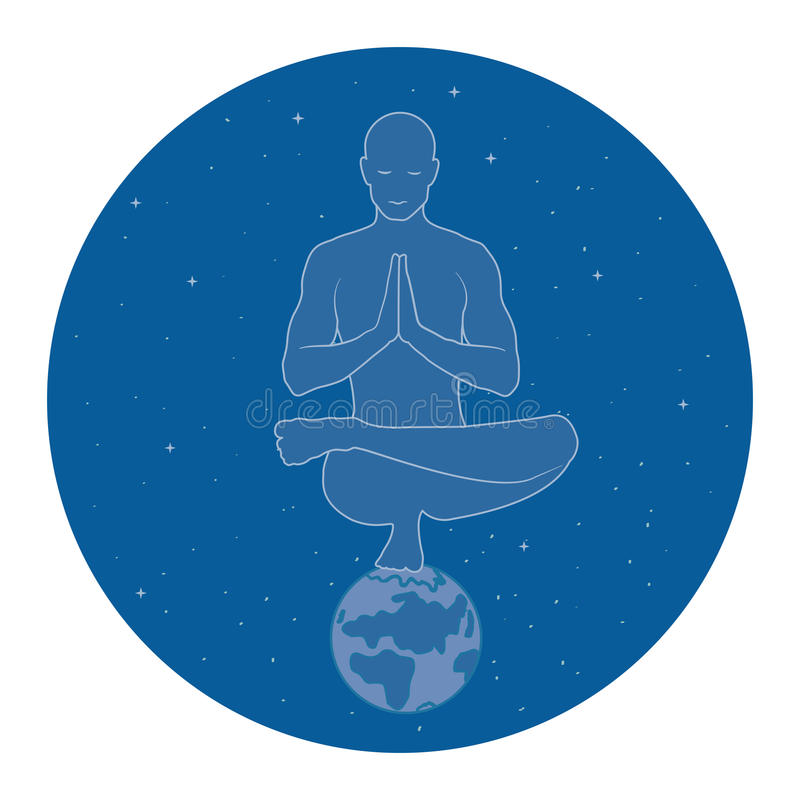 Yoga in space