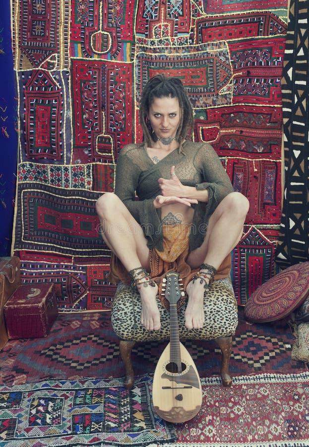 Yoga Tantric photo libre de droits