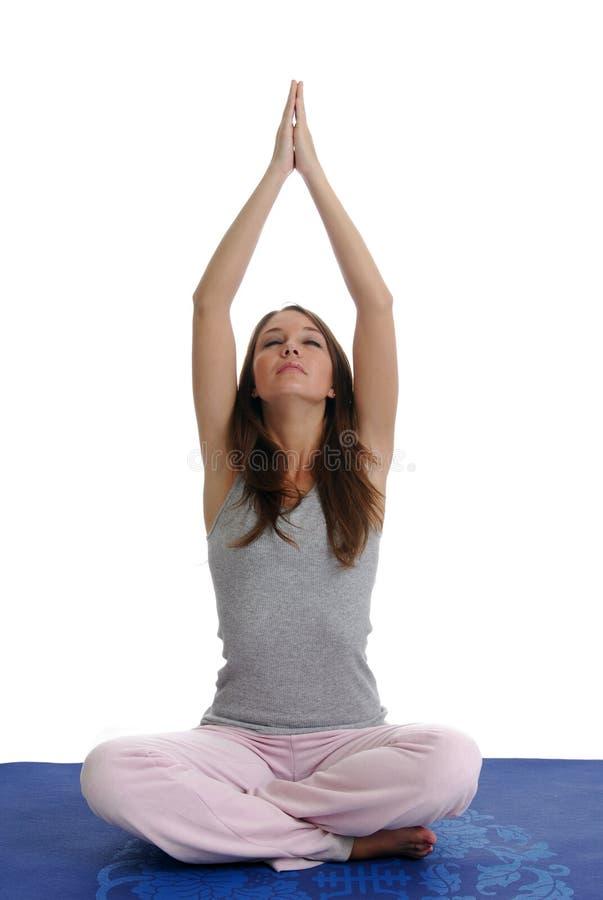 Yoga Time royalty free stock photo