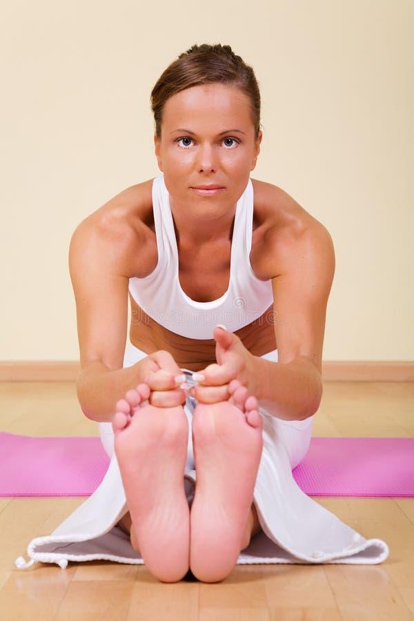 Yoga - Ugra-asana Royalty Free Stock Photos