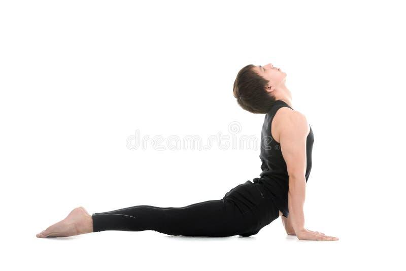 Yoga Upward Facing Dog Pose Stock Photo - Image of bend ...