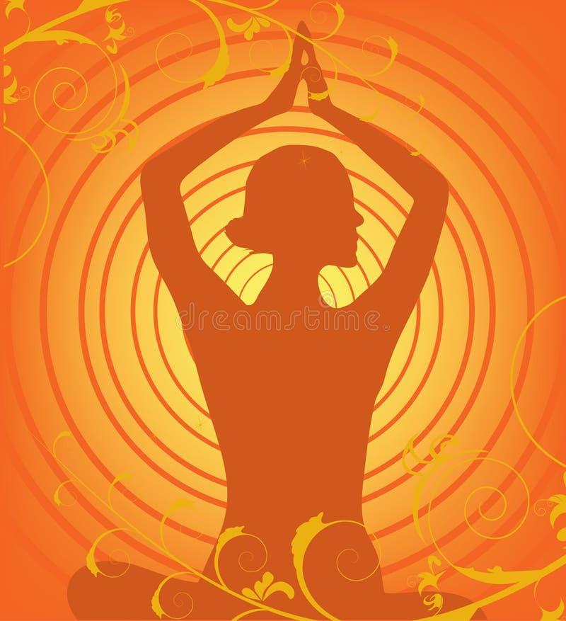Yoga vector vector illustration