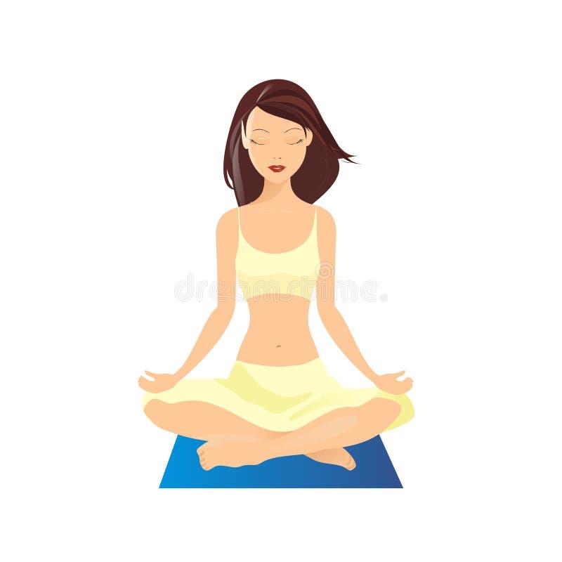 yoga vector illustration stock vector illustration of leisure 7167164 rh dreamstime com yoga victorville yoga victoria tx