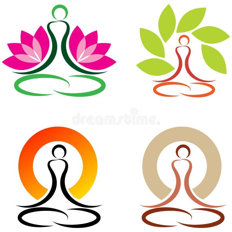 yoga stock vector illustration of logo buddhism lotus 39289714 rh dreamstime com yoga victoria tx yoga victoria