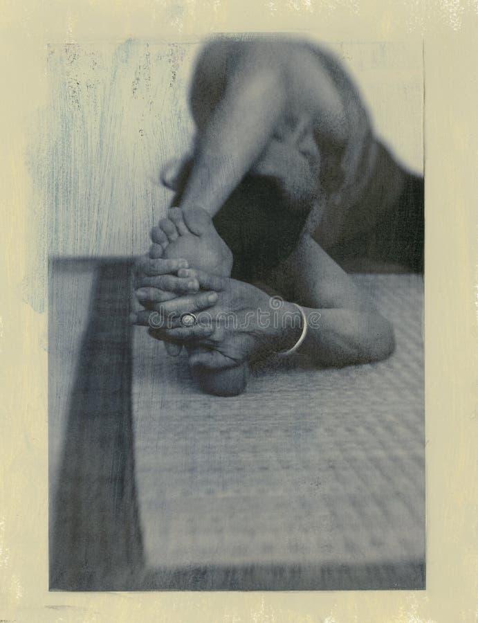 Yoga-Wesentliches 3 lizenzfreies stockfoto