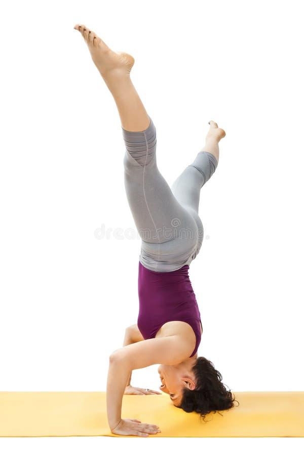 Download Yoga woman stock image. Image of fitness, black, health - 22856803