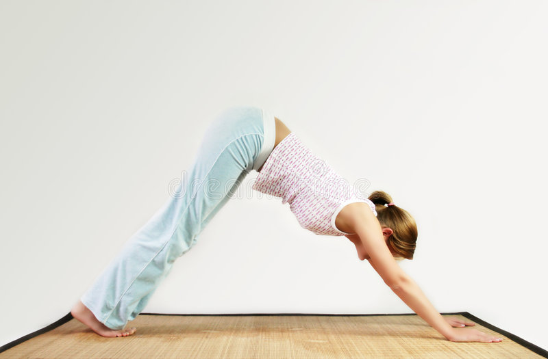 Download Yoga workout stock image. Image of healthy, athletic, fitness - 2655645