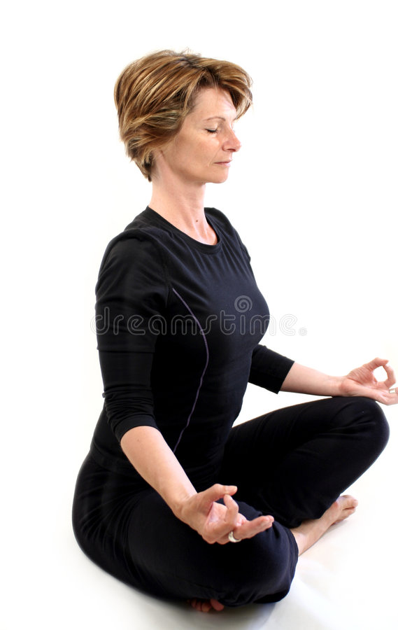 Yoga02 stockfoto