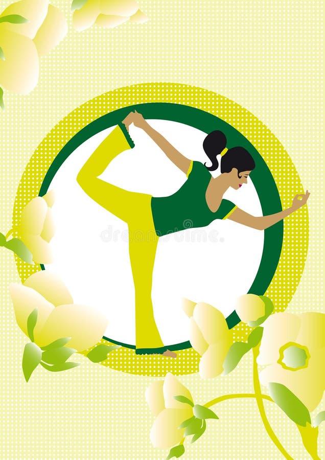 YogaOkt stock afbeeldingen
